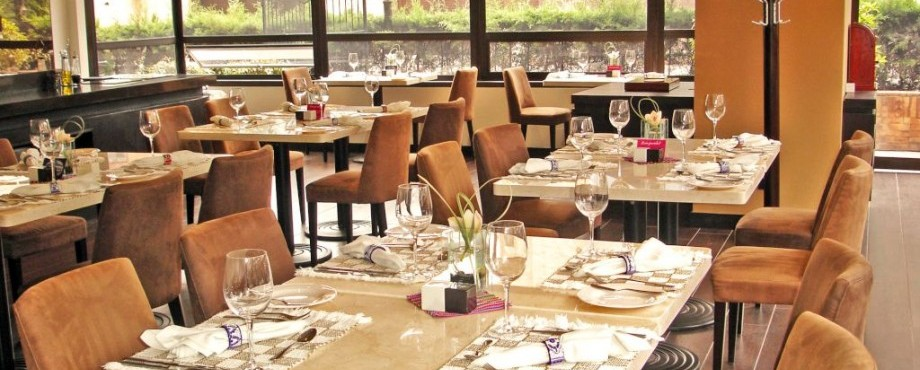 Restaurante.  Fuente: 101 Park House Twitter